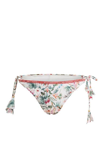 BANANA MOON COUTURE Bikini-Hose TAKA KILIFI, Farbe: ECRU/ GRÜN/ ORANGE (Bild 1)