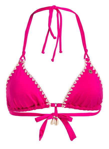 BANANA MOON Triangel-Bikini-Top ETHNICHIC NUCO, Farbe: FUSHIA (Bild 1)
