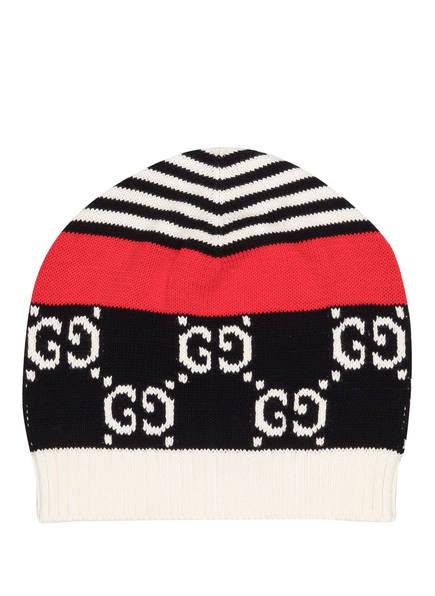 GUCCI Mütze, Farbe: DUNKELBLAU/ ROT/ WEISS (Bild 1)