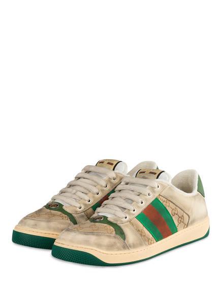 GUCCI Sneaker SCREENER GG , Farbe: CREME (Bild 1)