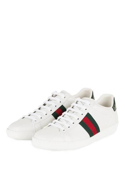 GUCCI Sneaker NEW ACE, Farbe: WEISS (Bild 1)