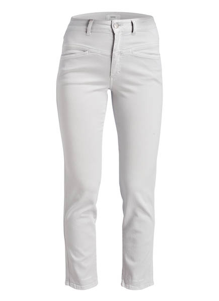 CLOSED Mom-Jeans PEDAL PUSHER, Farbe: GREY MISTY (Bild 1)