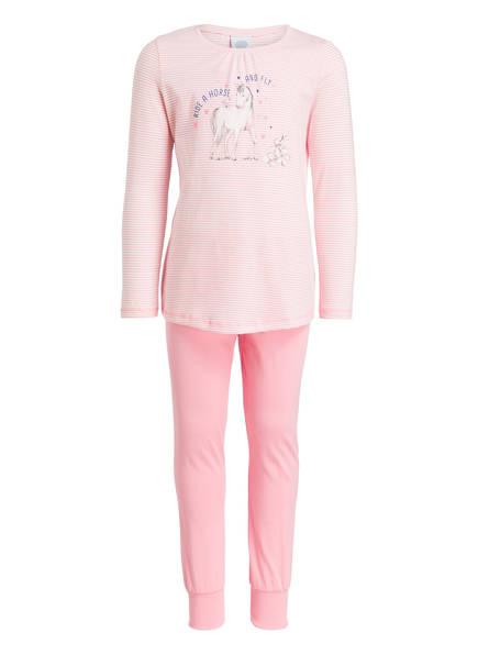 Sanetta Schlafanzug, Farbe: ROSA/ WEISS (Bild 1)