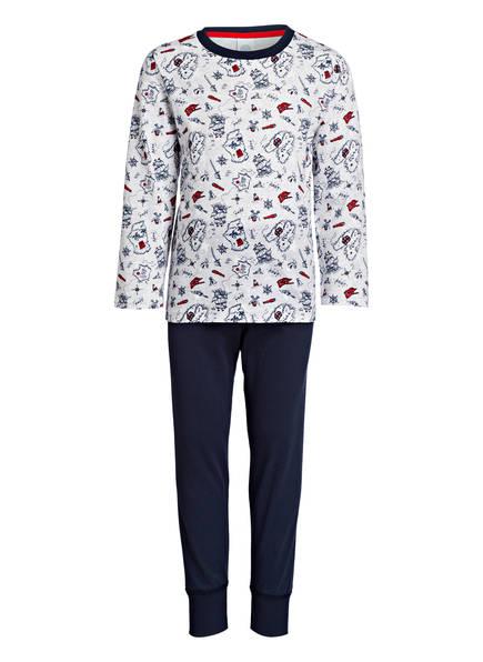 Sanetta Schlafanzug, Farbe: DUNKELBLAU/ HELLGRAU (Bild 1)