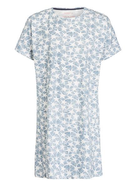 Sanetta Nachthemd, Farbe: BLAU/ WEISS (Bild 1)