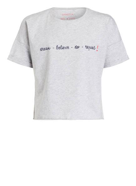 Sanetta T-Shirt, Farbe: HELLGRAU MELIERT (Bild 1)