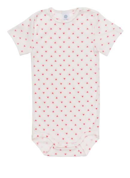 Sanetta Body, Farbe: WEISS/ PINK (Bild 1)