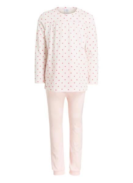 Sanetta Schlafanzug , Farbe: WEISS/ ROSA (Bild 1)