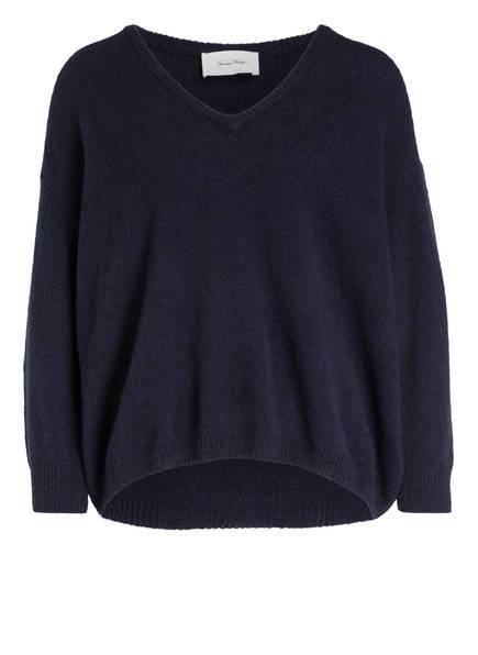 American Vintage Pullover, Farbe: DUNKELBLAU (Bild 1)