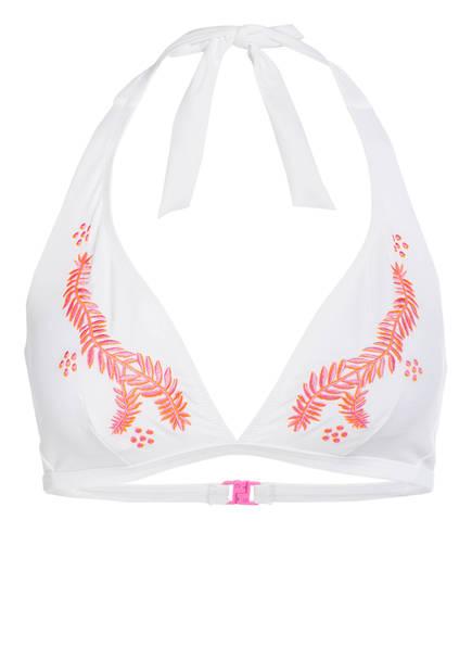 FIRE+ICE Neckholder-Bikini-Top ULLA , Farbe: WEISS (Bild 1)