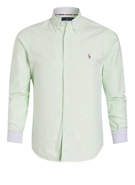 POLO RALPH LAUREN Oxfordhemd Slim Fit, Farbe: MINT (Bild 1)