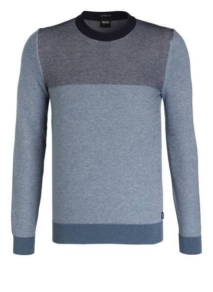 BOSS Pullover LAGONE , Farbe: BLAU MELIERT (Bild 1)
