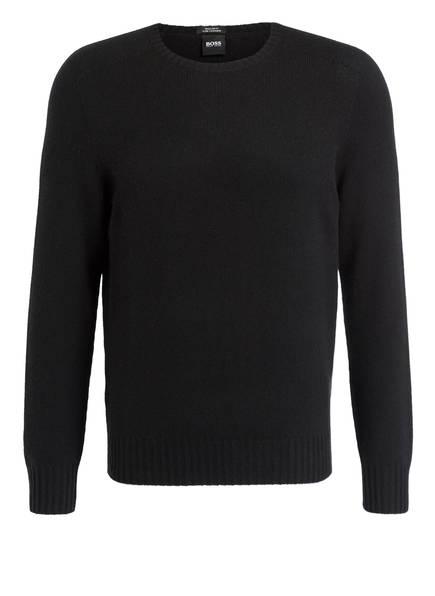 BOSS Cashmere-Pullover LAUDATO, Farbe: SCHWARZ (Bild 1)