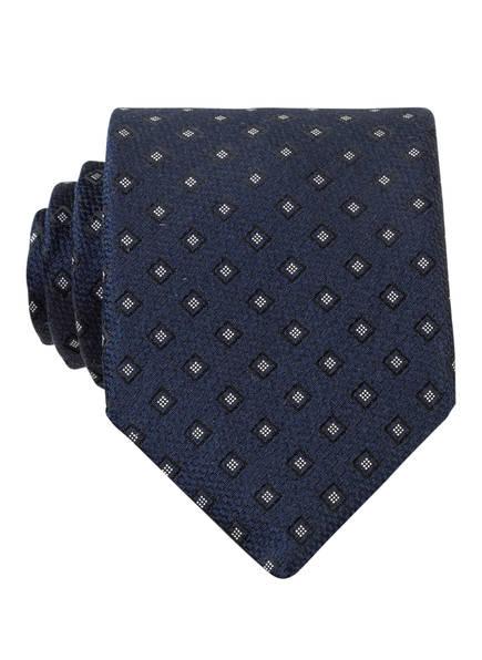 BOSS Krawatte, Farbe: DUNKELBLAU/ WEISS (Bild 1)