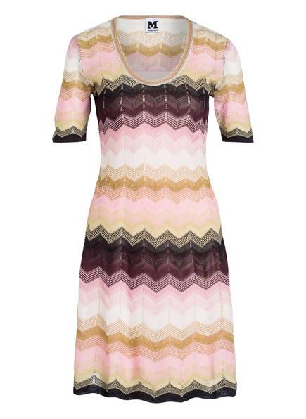 M MISSONI Kleid, Farbe: ROSA/ GOLD/ SCHWARZ (Bild 1)