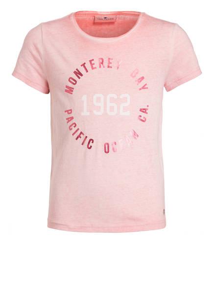TOM TAILOR T-Shirt, Farbe: ROSA MELIERT (Bild 1)