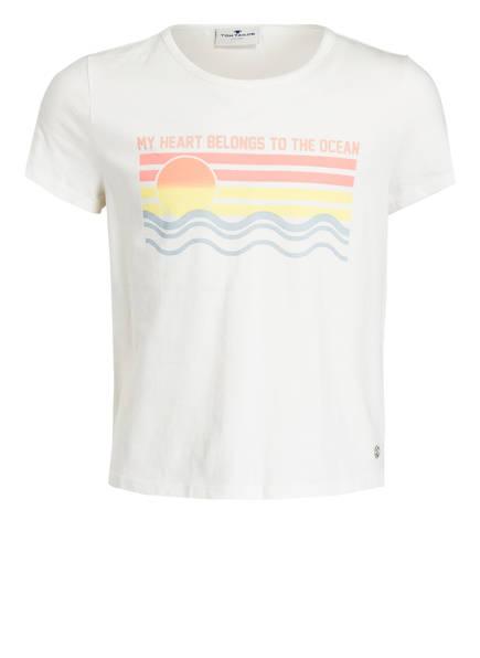 TOM TAILOR T-Shirt, Farbe: WEISS (Bild 1)