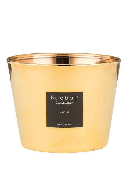 Baobab COLLECTION Duftkerze AURUM , Farbe: GOLD (Bild 1)