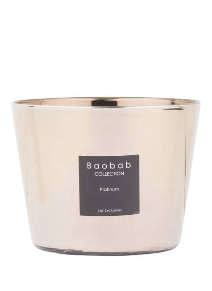 Baobab COLLECTION Dufttkerze LES EXCLUSIVES PLATINUM, Farbe: GOLD (Bild 1)