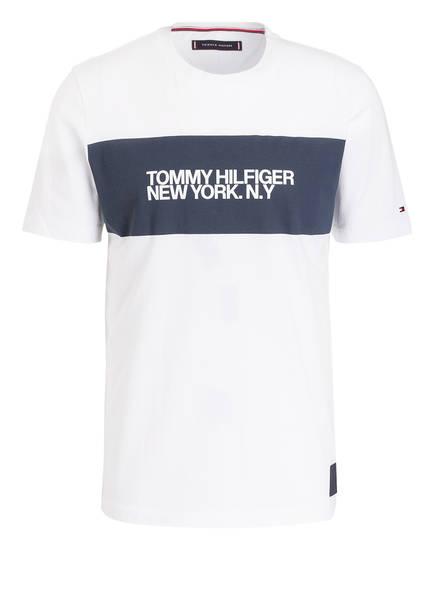 TOMMY HILFIGER T-Shirt BIG SCALE, Farbe: WEISS (Bild 1)