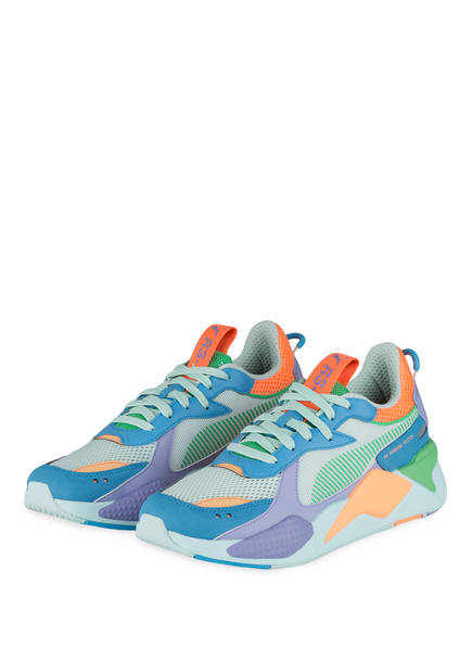 PUMA Sneaker RS-X TOYS, Farbe: BLAU/ GRÜN/ ORANGE (Bild 1)