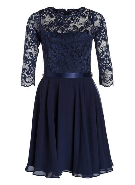 SWING Kleid mit Spitzenbesatz, Farbe: 3030 marine/marine (Bild 1)