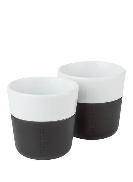 eva solo 2er-Set Espresso-Becher, Farbe: WEISS/ SCHWARZ (Bild 1)