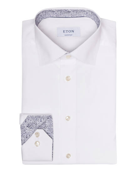 Contemporary Eton Eton Weiss Hemd Fit Fit Hemd Contemporary Weiss Eton 7AqwOx0x