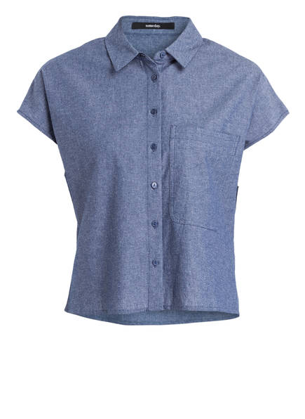 someday Bluse ZONI , Farbe: BLAU (Bild 1)