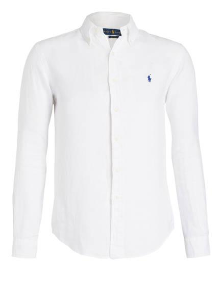 POLO RALPH LAUREN Leinenhemd Slim Fit, Farbe: WEISS (Bild 1)