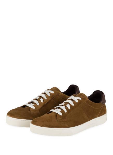 Ermenegildo Zegna Sneaker VITTORIO, Farbe: TAUPE (Bild 1)