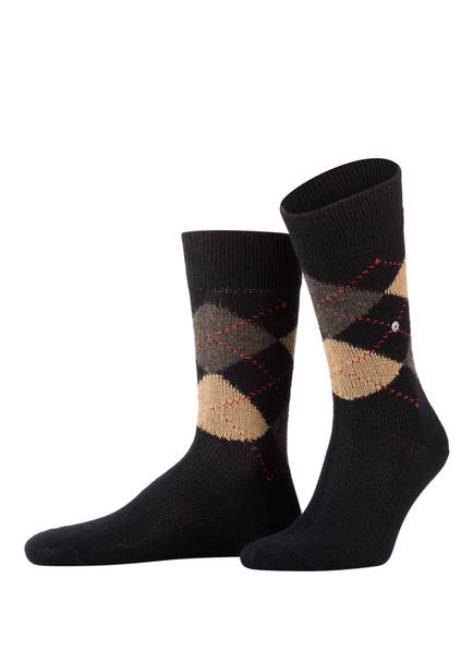 Burlington Socken PRESTON, Farbe: 3014 BLACK-SAHARA (Bild 1)