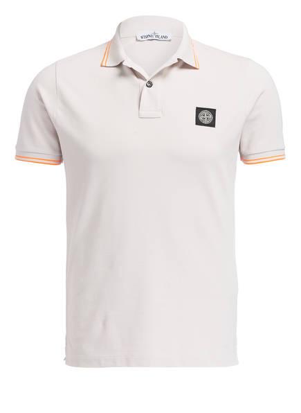 STONE ISLAND Piqué-Poloshirt Slim Fit, Farbe: V2097 stucco (Bild 1)