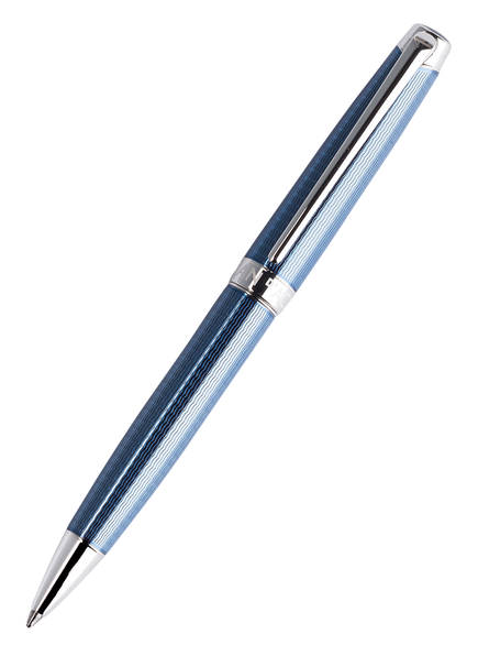 CARAN d'ACHE Kugelschreiber LÉMAN GRAND BLEU, Farbe: BLAU/ ROYAL (Bild 1)