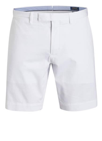 POLO RALPH LAUREN Chino-Shorts HUDSON Slim Fit, Farbe: WEISS (Bild 1)