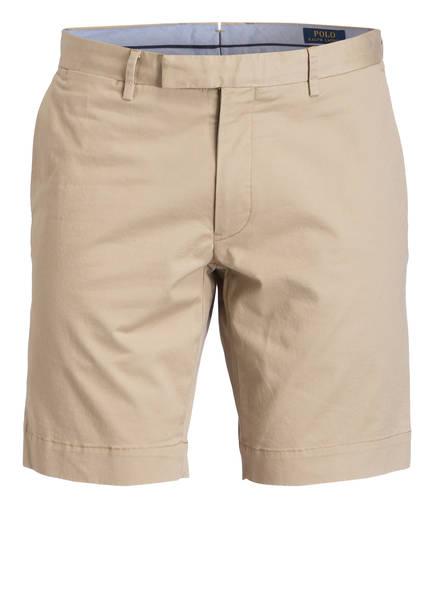 POLO RALPH LAUREN Chino-Shorts HUDSON Slim Fit, Farbe: BEIGE (Bild 1)