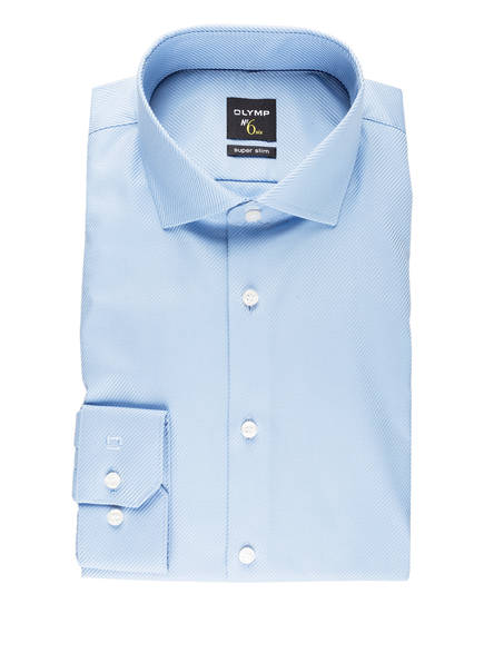 OLYMP Hemd No. Six super slim, Farbe: BLAU (Bild 1)