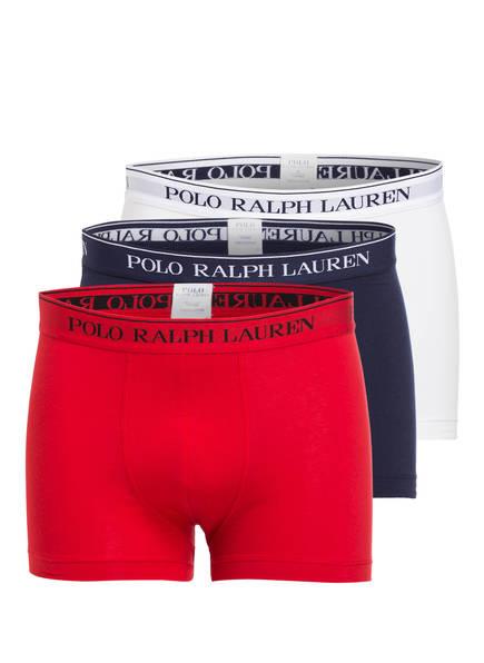 POLO RALPH LAUREN 3er-Pack Boxershorts, Farbe: ROT/ WEISS/ BLAU (Bild 1)