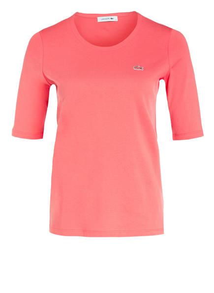 LACOSTE T-Shirt mit 3/4-Arm, Farbe: PINK (Bild 1)