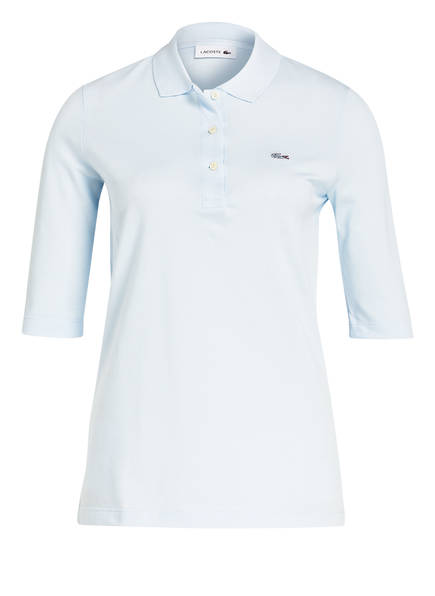 LACOSTE Piqué-Poloshirt mit 3/4-Arm, Farbe: HELLBLAU (Bild 1)