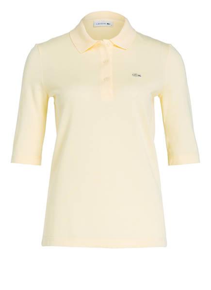 LACOSTE Piqué-Poloshirt mit 3/4-Arm, Farbe: GELB (Bild 1)