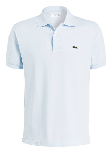 LACOSTE Piqué-Poloshirt Classic Fit, Farbe: HELLBLAU (Bild 1)