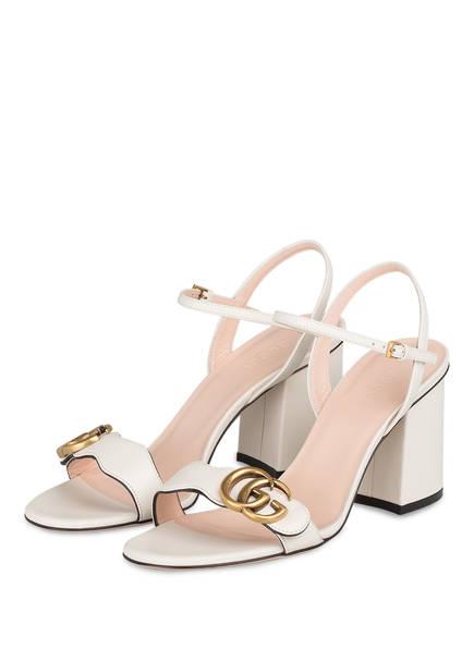 GUCCI Sandaletten, Farbe: MYSTIC WHITE (Bild 1)