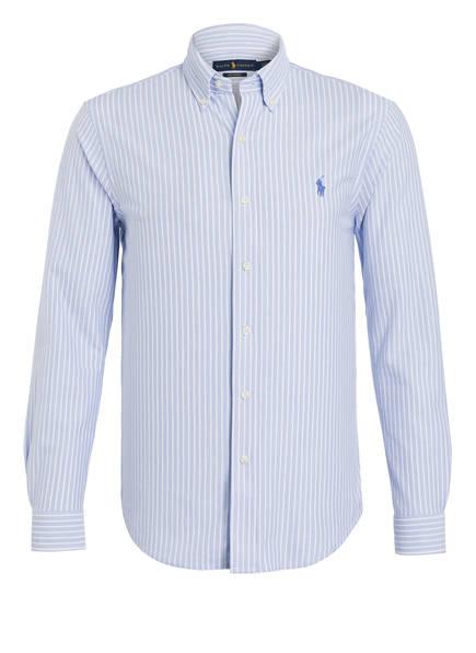POLO RALPH LAUREN Oxfordhemd Standard Fit, Farbe: HELLBLAU/ WEISS (Bild 1)