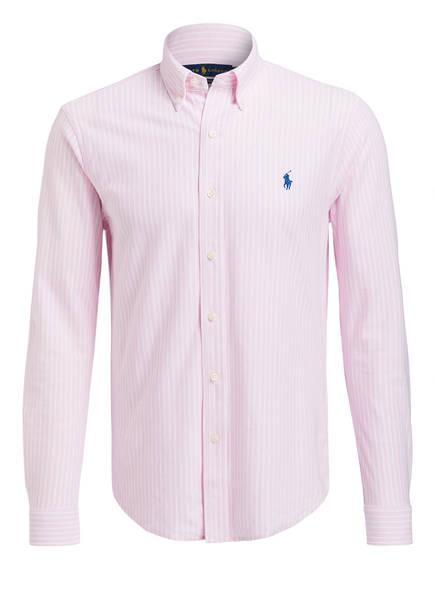 POLO RALPH LAUREN Oxfordhemd Standard Fit, Farbe: PINK/ WEISS GESTREIFT (Bild 1)