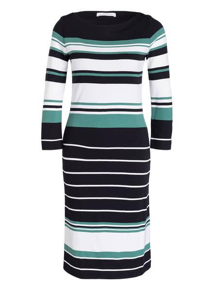 BOSS Kleid ELSARA, Farbe: SCHWARZ/ WEISS/ GRÜN GESTREIFT (Bild 1)