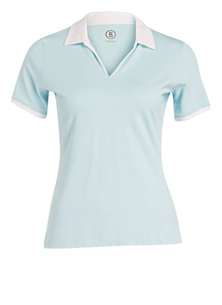 BOGNER Piqué-Poloshirt LUMI2, Farbe: TÜRKIS (Bild 1)
