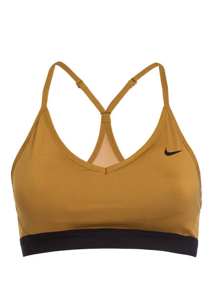 Nike Sport-BH INDY, Farbe: BRAUN (Bild 1)