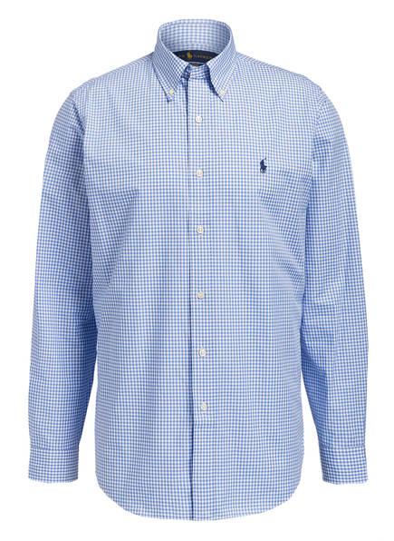 POLO RALPH LAUREN Hemd Custom Fit, Farbe: BLAU/ WEISS KARIERT (Bild 1)