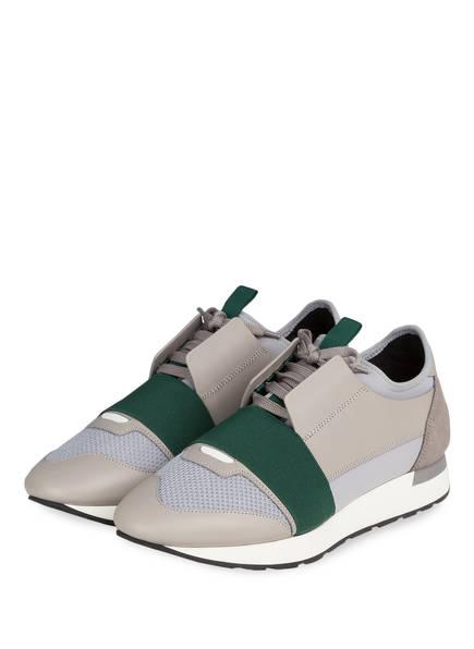 BALENCIAGA Sneaker RACE RUNNERS , Farbe: GRAU/ GRÜN (Bild 1)